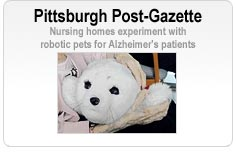 Pittsburgh Post-Gazette - Nursing homes experiment with robotic pets for Alzheimer's patients